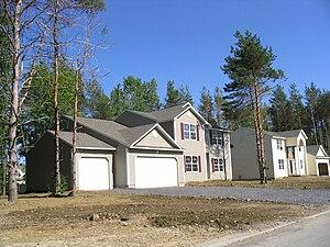 Brewerton, New York - Champlain at the Lake housing development in Brewerton