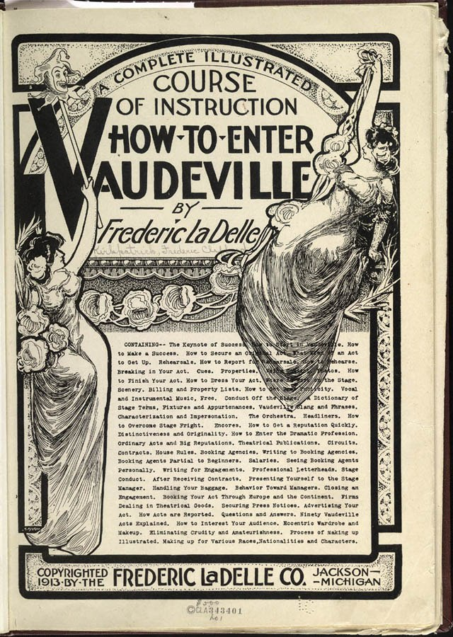 How to Enter Vaudeville cover