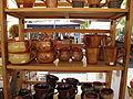 Hrnčířské trhy Beroun 2011, hrníčky z Maďarska.JPG