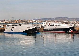 HSC Express - Image: Hsc express & manannan
