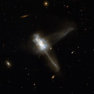 Atlas of Peculiar Galaxies - IC 883 (Arp 193), remnant of two galaxies' merger.