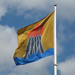 Huddinge kommun, flagga