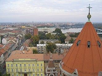 Szeged District - Image: Hungary szeged dom 2
