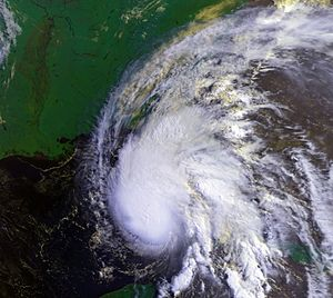 1995 Atlantic hurricane season - Image: Hurricane Allison 04 jun 1995 1313Z