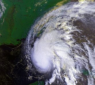 1995 Atlantic hurricane season - Image: Hurricane Allison 04 jun 1995 1313Z