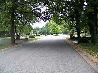 Hurstbourne, Kentucky - Image: Hurstbournescene