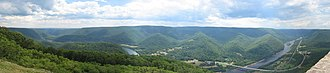 Hyner View State Park - Image: Hyner View Panorama