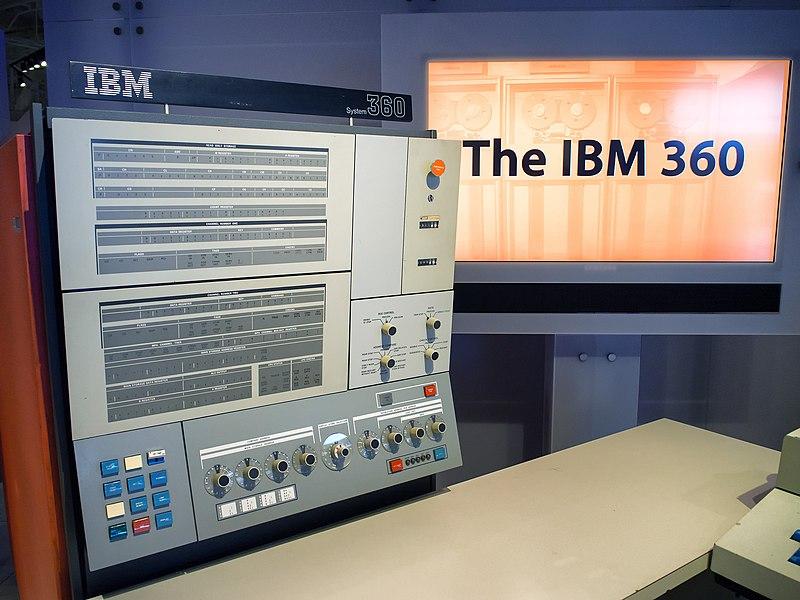 File:IBM System 360 ー Computer History Museum (30781538112).jpg