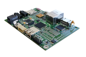 Photo of the IGEPv2 Board
