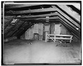 INTERIOR, THIRD FLOOR, GENERAL VIEW LOOKING TOWARD SOUTH END - Robeson-Williams Grist Mill, Roslyn, Nassau County, NY HABS NY,30-ROS,3-17.tif
