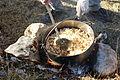 Ielaboración de las tradicionales migas pastoriles en la montaña oriental leonesa.JPG