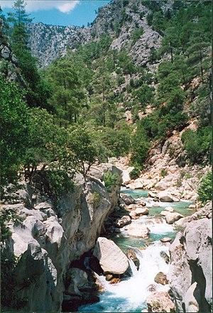 Güzelyurt - Image: Ihlara Valley