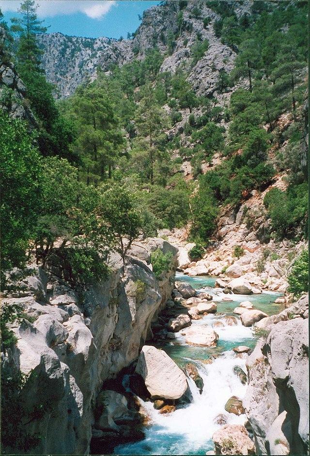 Peristrema Valley - Ihlara Canyon