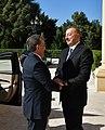 Ilham Aliyev met with President of Uzbekistan Shavkat Mirziyoyev, 2019 01.jpg