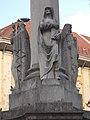 Immaculata column by Dezső Erdey, Saint Anne, 2018 Belváros-Lipótváros.jpg