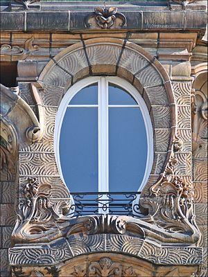 Lavirotte Building - Image: Immeuble art nouveau de Jules Lavirotte à Paris (5510662576)
