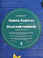 In memory of Violette Szabo GC and the Stockwell residents who gave their lives in World War II.jpg
