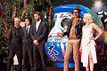 Independence Day- Resurgence Japan Premiere- Roland Emmerich, Fujiwara Tatsuya, Liam Hemsworth, Jeff Goldblum & Maika Monroe (28580795885).jpg
