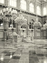 Chowmahalla Palace was a palace belonging to the Nizams of Hyderabad