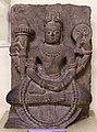 India del nord, vishnu in dhyanamudra, xiv secolo.jpg