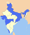 India subdivisions flood hit between July 3 and August 15 2007.png