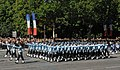 Indian Air Force contingent as a part of the Bastille Day Parade of France, in Paris on July 14, 2009.jpg