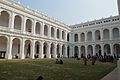 Indian Museum Building with Quadrangle - Inside North-west View - Indian Museum - Kolkata 2014-02-14 9244.JPG