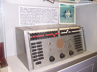 Indianapolis Motor Speedway Radio Network - Switchboard from the radio network