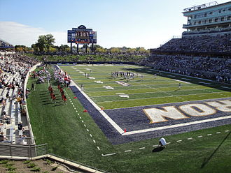 InfoCision Stadium–Summa Field - Image: Info Cision opening day 1
