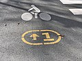 Inscription Sol Vélopolitain Ligne 1 Place Nation - Paris XI (FR75) - 2020-10-26 - 1.jpg