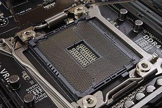 LGA 2011 - An LGA 2011-v3 socket