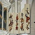 Interieur, orgel, detail - binnenzijde van het rechter rugwerkluik, 'Muziekinstrumenten. Vervaardiger- Gerard de Lairesse, 1686 - Amsterdam - 20411623 - RCE.jpg