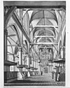 interieur naar het westen reproductie van tekening door hendr.keun 1769 in bezit van mr. van eegsten a