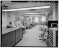 Interior, library. - Clark Howell Homes, Community Center, 528 Lovejoy Street, Atlanta, Fulton County, GA HABS GA,61-ATLA,63A-18.tif