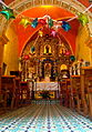 Interior de Capilla de los Santos Reyes, Tepoztlan.jpg