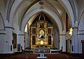 Interior de l'església del convent de santa Clara - Gandia.JPG