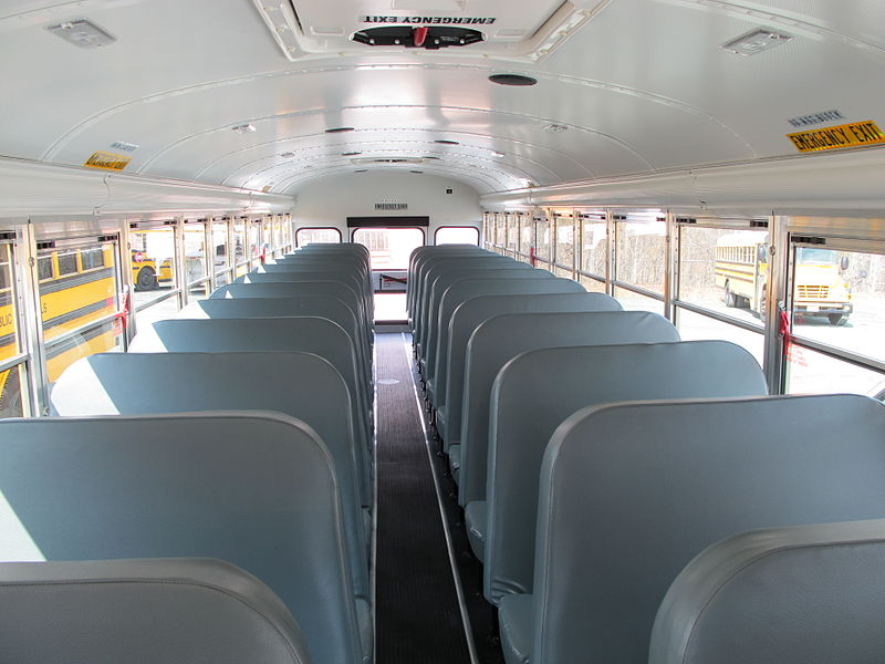 File:Interior school bus.jpg