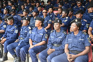 Law enforcement in the Democratic Republic of the Congo