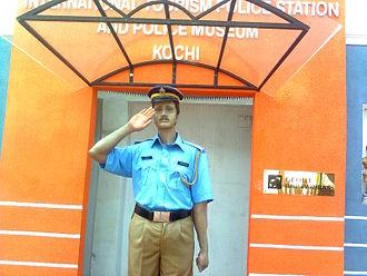Mattancherry - Image: Intl Police museum