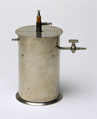 Ionization chamber - Ionization chamber made by Pierre Curie, c 1895-1900