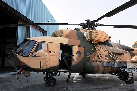 A Mi-171E helicopter of the Iraqi Army Aviation Command. - Mil Mi-17