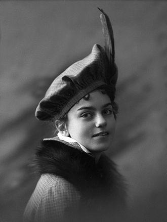 Irene Ibsen Bille - Irene Ibsen, photographed by Gustav Borgen