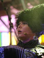 Iryna Kovalenko (DakhaBrakha) (Haldern Pop 2013) IMGP6754 smial wp.jpg