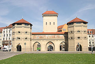 Isartor tower
