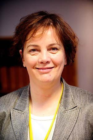 Left-Green Movement - Image: Islands miljominister Svandis Svavarsdottir. Nordiska radets session i Stockholm 2009