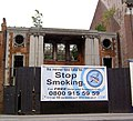 Its Never Too Late to Stop Smoking. (National Film Theatre, Beverley Rd, Hull) - geograph.org.uk - 255334.jpg