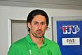 Jörn Schläger, Trainer des Stralsunder HV, 1. Herren-Mannschaft Handball (2011-11-12) a by User Klugschnacker in Wikipedia.jpg