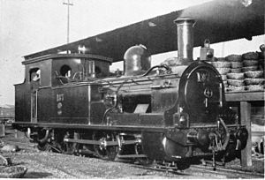JGR Class 860 - The first locomotive built in Japan