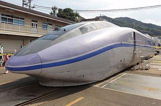 WIN350 Japanese experimental high-speed train type