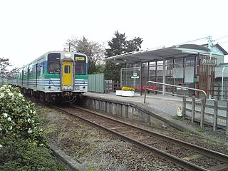Higashi-Yokota Station Railway station in Sodegaura, Chiba Prefecture, Japan